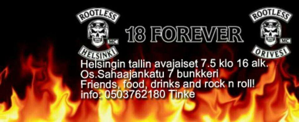 Rootless MC Helsingin tallin avajaiset 7.5.2016